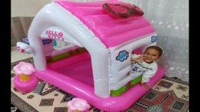 Hello kitty oyun evi , eğlenceli çocuk videosu , toys unboxing , oyuncak açtık