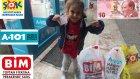 BİM ŞOK ve A101 den 10 TL ile neler alınır , eğlenceli çocuk videosu , alışveriş