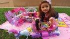 Elif Barbie ev ile 3 barbie piknik yapıyor , eğlenceli çocuk videosu , evcilik oyunları