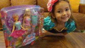 Barbie dream topia , 3 farklı kıyafet giyebilen deniz kızı olabilen barbie oyuncak , toys unboxing