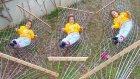 Elifin düşme günü , bahçeye hamak kurduk , eğlenceli çocuk videosu