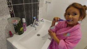 Sabah rutinim , elifin kendi karar verdiği videosu , eğlenceli çocuk videosu