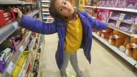 Sütlü içecek Challange alışveriş videosu , Eğlenceli çocuk videosu