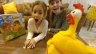 Gıt gıt tavuk Oynadık bu tavuk bir harika dostum , eğlenceli çocuk videosu
