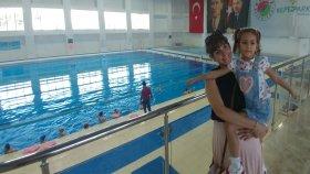 Bu havuz DEV HAVUZ Kepez Belediyesi Olimpik yüzme havuzunu gezdik