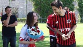 Gençlerbirliği Antrenmanında Sürpriz Evlenme Teklifi