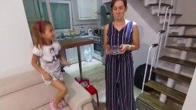 Kinder sürpriz yumurta challange , sürpriz yumurtaları bulmaca oynadık , eğlenceli çocuk videosu