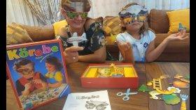 KÖREBE BİL BAKALIM CHALLANGE , gözlerin kapalı bil bakalım , eğlenceli çocuk videosu toys unboxing