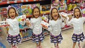 SÜRPRİZ YUMURTA CHALLANGE Alışveriş videosu , Eğlenceli çocuk videosu