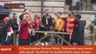 Östersund'da Galatasaray coşkusu ! Başkan Dursun Özbek şehri gezdi
