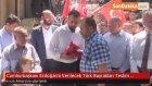 Cumhurbaşkanı Erdoğan'a Verilecek Türk Bayrakları Teslim Edildi