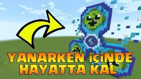 STRES ÇARKI EVİMİN İÇİNDE HAYATTA KALMAYA ÇALIŞIYORUM ! ( Minecraft )