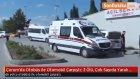 Çorum'da Otobüs ile Otomobil Çarpıştı : 3 Ölü , Çok Sayıda Yaralı Var