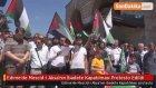 Edirne'de Mescid - i Aksa'nın İbadete Kapatılması Protesto Edildi