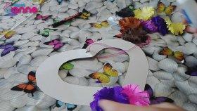 Krapon Kağıdı ile Kapı Süsü Yapımı - DIY - KENDİN YAP