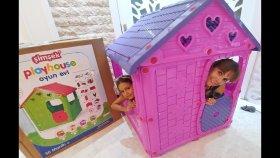 800.000 Hediyemiz Şimşek Oyun Evini Açtık , Play House Toys Unboxing