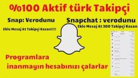 Snapchat Arkadaş Kasma - İzlenme Kasma !
