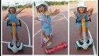 Parkta Kaykay ve Elektrikli Kaykay ile Yarışmalar , Eğlenceli Çocuk Videosu
