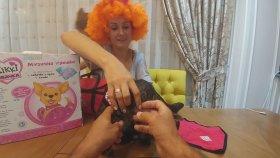 """"""" Chi Chi Love"""" Kikki Köpekcik , Dedemizin Getirdiği Oyuncağı Açtık , Çocuk Videosu Toys Unboxing"""