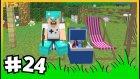 Çiçek Bahçesi , Havuz ve Pepsi Keyfi - ÇiftçiCraft S2 - #24