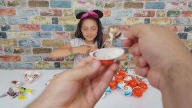Açtığını Yeme Cezalı Kinder Joy Sürpriz Yumurtaları Erkekler VS Kızlar