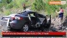 Kastamonu'da Otomobil Çaya Uçtu : 3 Ölü , 3 Yaralı