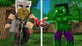 THOR SET VS HULK SET ( Minecraft )