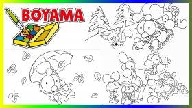 Limon ile Zeytin   5 Boyama Videosu   Nasıl Karikatür Boyanır   Boyama Videoları