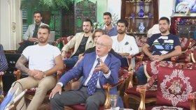 Sn. Adnan Oktar'ın Filistin İnsan Hakları Kuruluşu Koordinatörü Dr. Hans Köchler ile görüşmesi ( 24 A